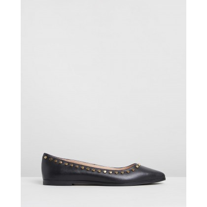 Madison Stud Flats Black by Walnut Melbourne