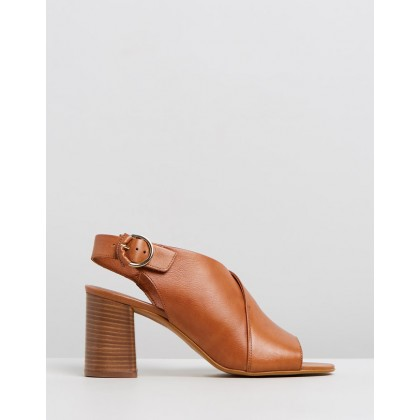 Madora Tan Leather by Office