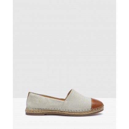 Maison Espadrilles Natural/Tan by Oxford