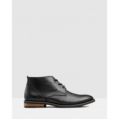 Malcolm Desert Boot Black by Aq By Aquila