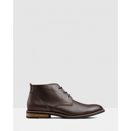 Malcolm Desert Boot Brown by Aq By Aquila