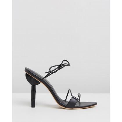 Malia Heels Black by Cult Gaia