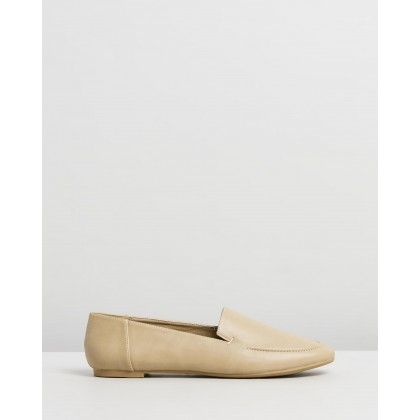 Malina Flats Nude Smooth by Spurr