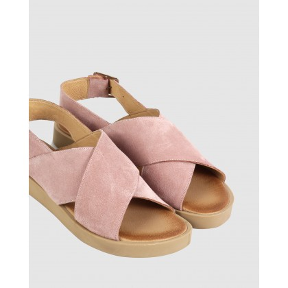 Mandy Sandals 94-pink by S By Sempre Di
