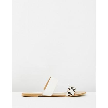 Mantel White & Blonde Leopard by Billini