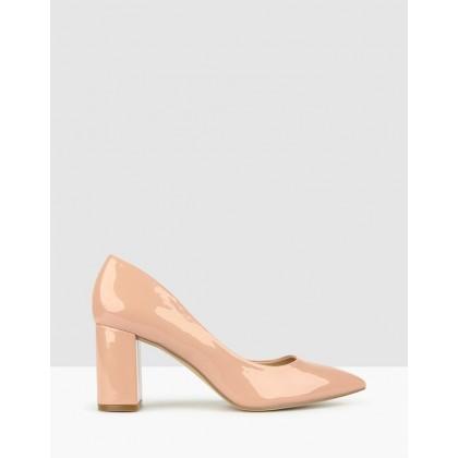 Mantle Block Heel Pumps Blush by Betts