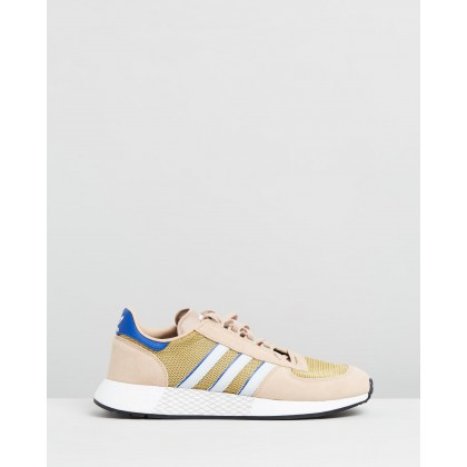 Marathon Tech - Unisex Pale Nude, Blue Tint & Collegiate Blue by Adidas Originals