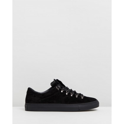 Marostica Low Black Suede by Diemme