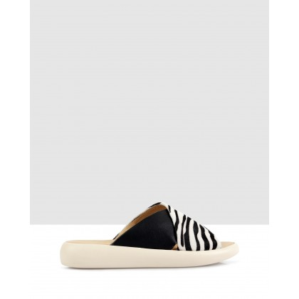 Marta Sandals Zebra/Black by S By Sempre Di