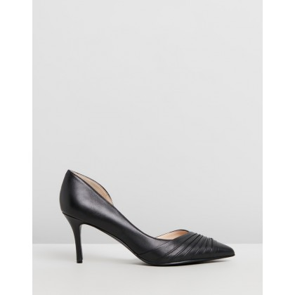 Martamay Black Leather by Nine West