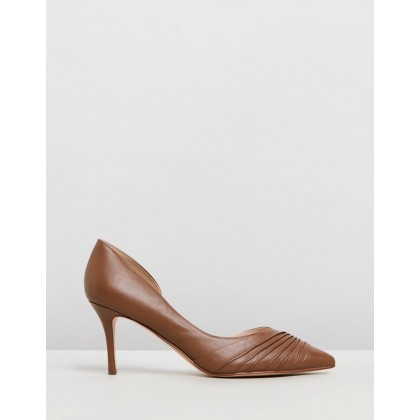 Martamay Dark Natural Leather by Nine West