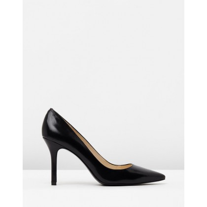 Martina Black Leather by Nine West