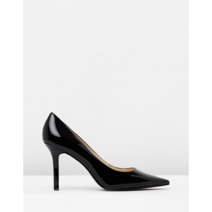 Martina Black Patent by Nine West