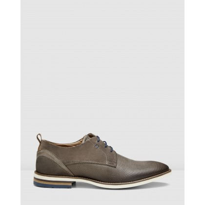 Martins Lace Ups Taupe by Aquila