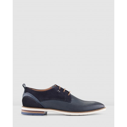 Martins Lace Ups Blue by Aquila