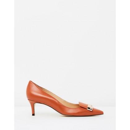 Mary Heels Orange by Nina Armando