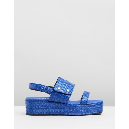 Mascot Wedges Azure by Sol Sana