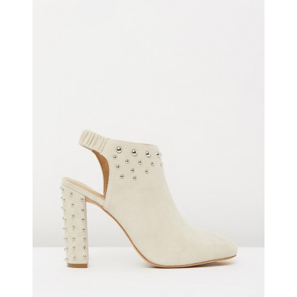 Mason Nude Suede by Mode Collective