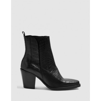 Mason Chelsea Boots Black by Topshop