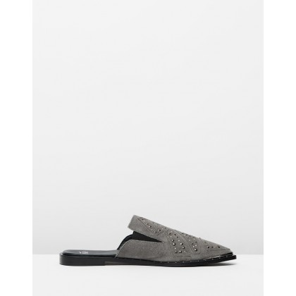 Mason Pixie Loafers Grey by Oneteaspoon