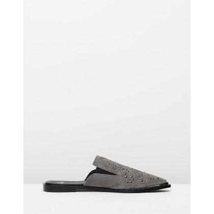 Mason Pixie Loafers Grey by Oneteaspoon