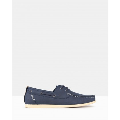 Master Boat Shoes Navy by Betts