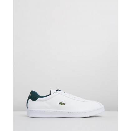 Masters - Men's White & Dark Green by Lacoste