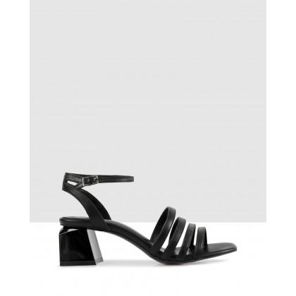 Matisse Heleed Sandals 54-black by Sempre Di