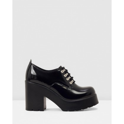 Mayhem Black Patent Leather by Roc Boots Australia