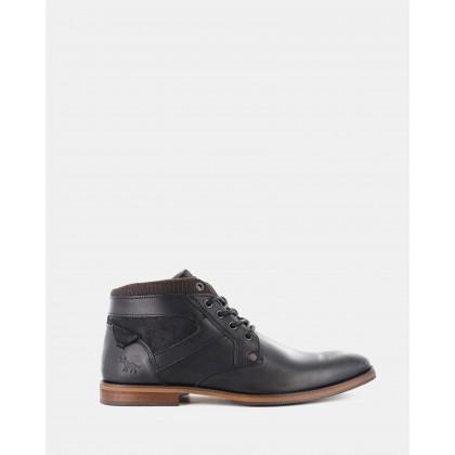 Medford Boots Black by Wild Rhino