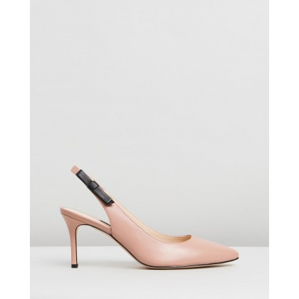 Meena Light Pink Leather by Nine West