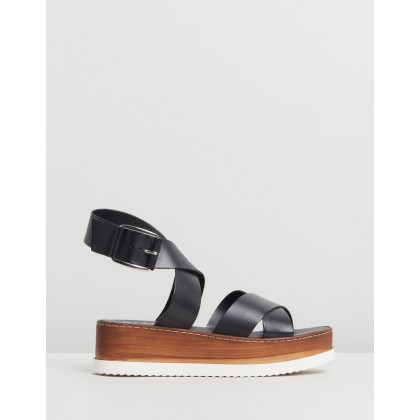 Mel Black Leather by Office