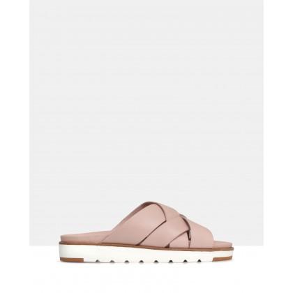 Mel Gel Cushioned Sandals Cameo by Sempre Di
