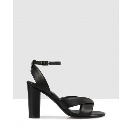 Melissa Heeled Sandals Black by S By Sempre Di