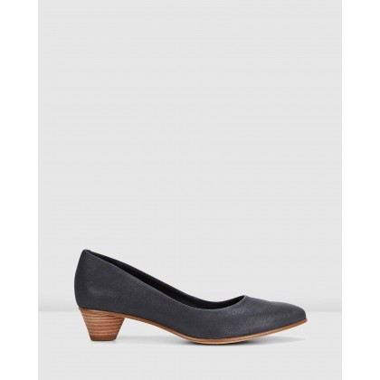 MENA BLOOM Black Leather by Clarks