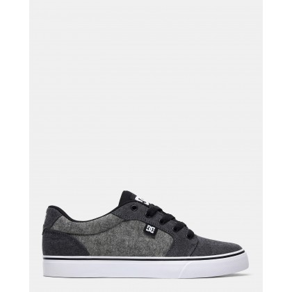 Mens Anvil TX SE Shoe Charcoal/Charcoal by Dc Shoes
