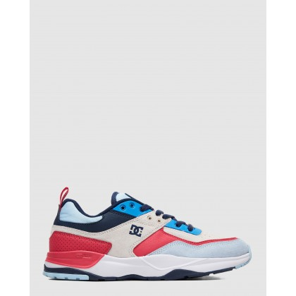 Mens E.Tribeka SE Shoe Blue/White/Blue by Dc Shoes