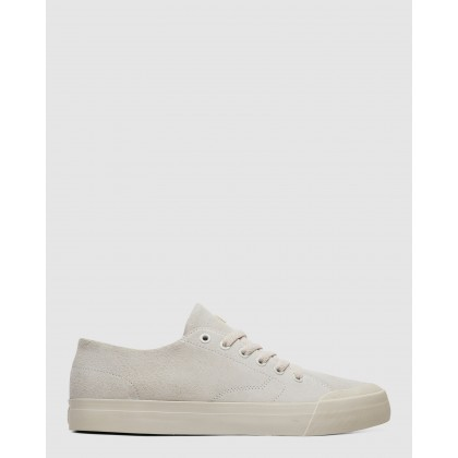 Mens Evan Lo Zero Shoe Cream by Dc Shoes