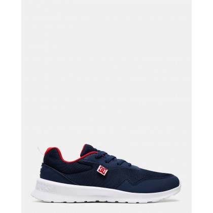 Mens Hartferd Shoes Navy/Red by Dc Shoes