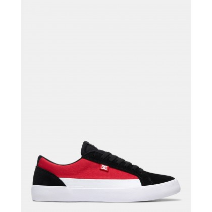 Mens Lynnfield Shoes Black/Red/White by Dc Shoes
