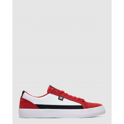 Mens Lynnfield Shoes Red/Black/Red by Dc Shoes