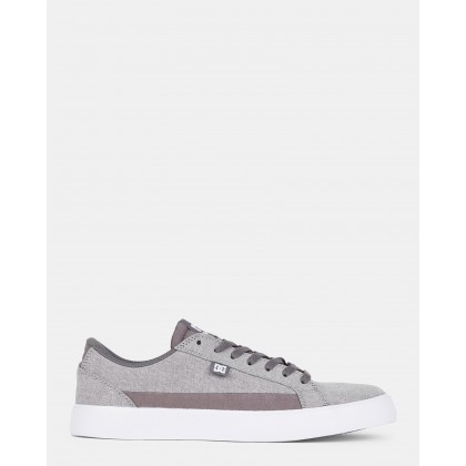 Mens Lynnfield TX SE Shoes Grey Heather by Dc Shoes