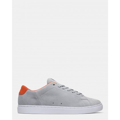 Mens Reprieve SE Shoes Grey/Orange by Dc Shoes