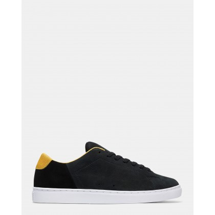 Mens Reprieve SE Shoes Black/Yellow by Dc Shoes