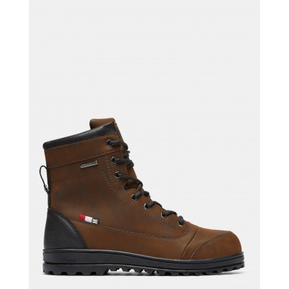 Mens Travis Winter Boots Black/Brown/Black by Dc Shoes