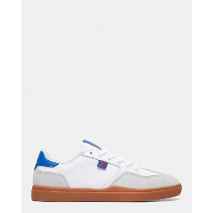 Mens Vestrey Shoes White/Gum by Dc Shoes