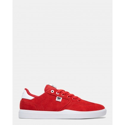 Mens Vestrey Shoes Red/Red/White by Dc Shoes
