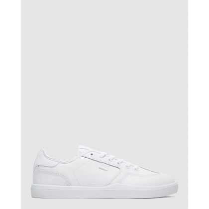 Mens Vestrey Shoes White/White by Dc Shoes