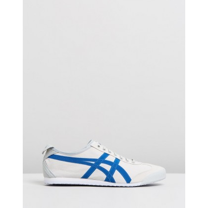 Mexico 66 - Unisex Cream & Indigo Blue by Onitsuka Tiger