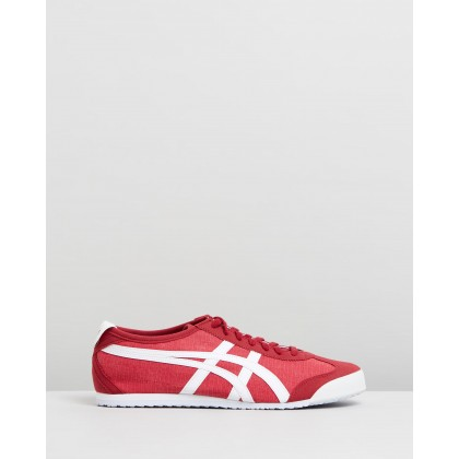 Mexico 66 - Unisex Red & White by Onitsuka Tiger